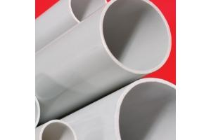 Труба ПВХ жёсткая гладкая тяжёлая 25мм 3м