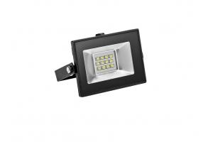 Светодиодный прожектор FLUXO 10W, черный
