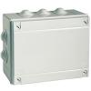 Коробка ответвительная с 12 кабельными вводами д.40мм, IP55, 380х300х120мм