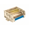 Блок распределительный на DIN рейку 2р 100А, 5х6мм 1х8мм 1х9мм
